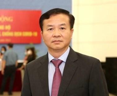 Ông Nguyễn Quang Vinh Giám đốc Quỹ vắc xin phòng, chống Covid-19