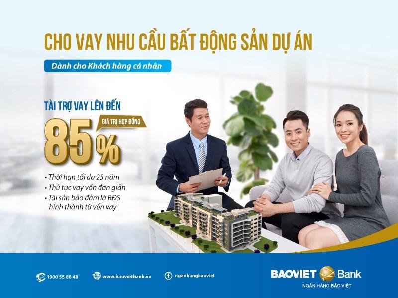 Vay mua nhà dự án dễ dàng tại BAOVIET Bank - Ảnh 1
